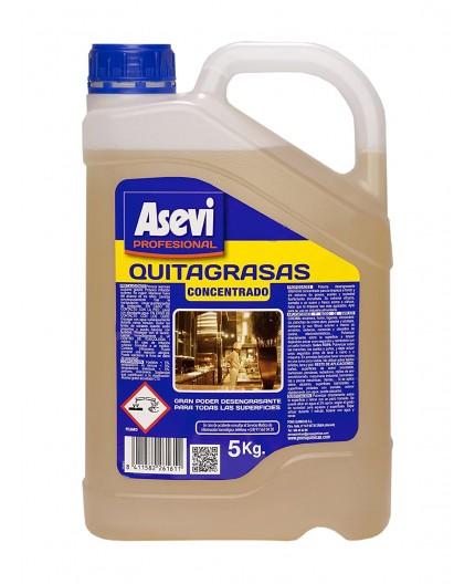 Asevi - Quitagrasas concentrado, 5L.