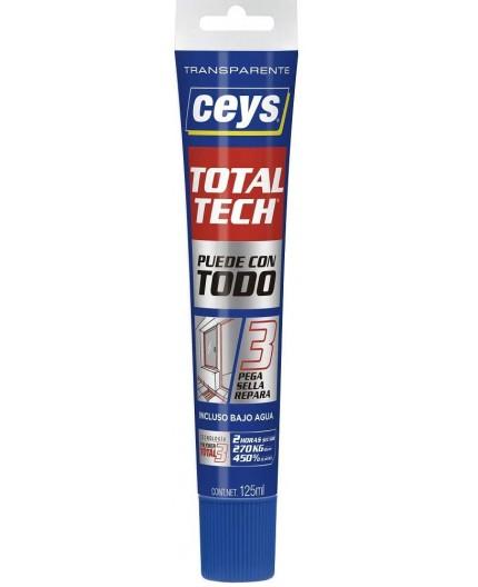 TOTAL TECH TRANSPARENTE - TUBO 125 ML