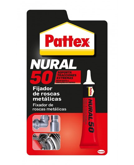 NURAL 50 - FIJADOR DE ROSCAS METALICAS - 10 ML