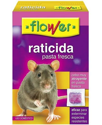 FLOWER - RATICIDA CEBO FRESCO - USO DOMÉSTICO -
